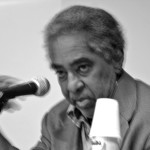 """Joel Rufino em Ato """"40 anos sem Merlino"""", Memorial da Resistência, em 30/07/2011. Foto: Igor Ojeda."""